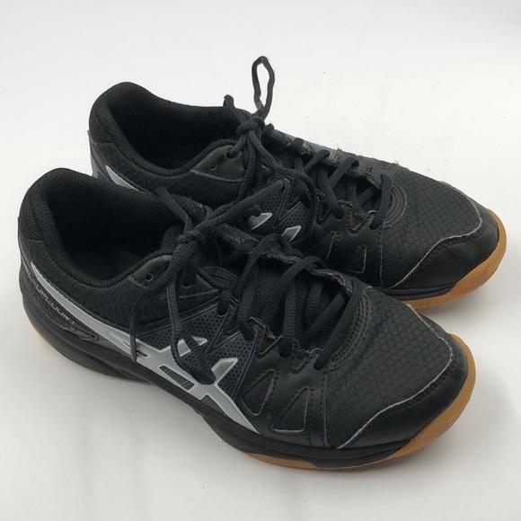 Asics Shoes   Black Girls Gel Upcourt